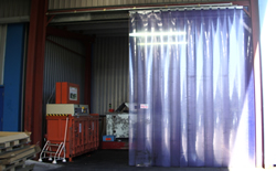 Pvc Strip Curtain Repairs Warton