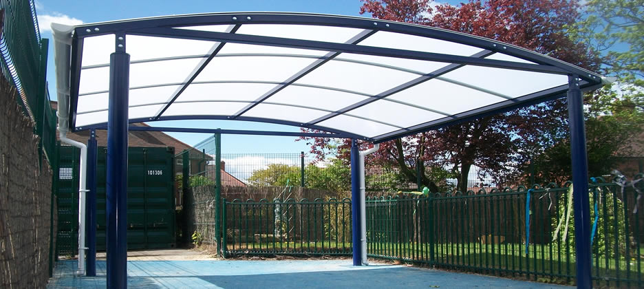 Canopies & Shelters Installed  Blackpool