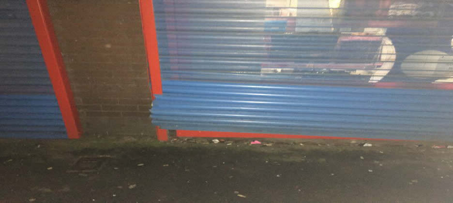 Emergency Commercial Roller Shutter Repairs Warton