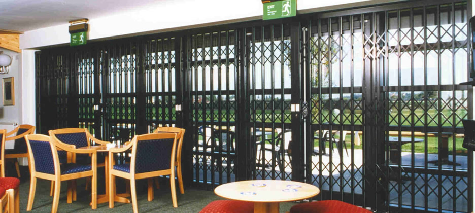 Commercial Security Grilles Blackpool