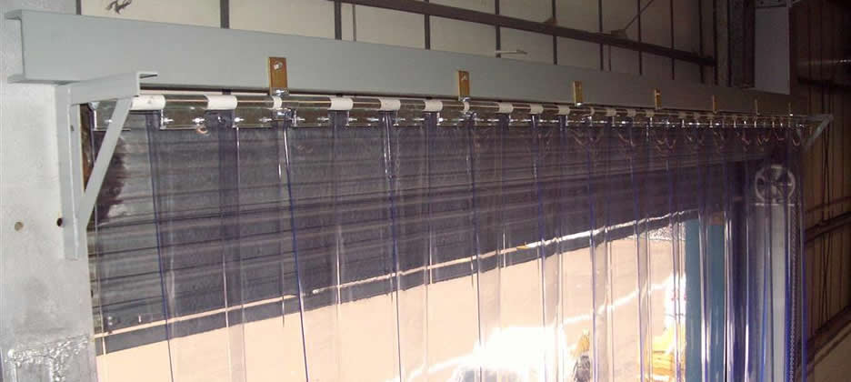 Pvc Strip Curtains Installed  Blackpool